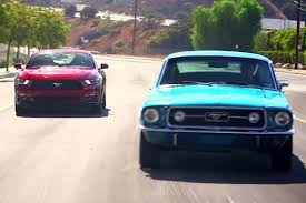New or Classic 2015 Ford Mustang GT vs 1967 Mustang GT Video