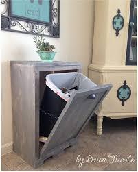 une cuisine pour tous diy dissimuler la poubelle poubelle les mercredis et dans la