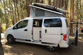 043 Recon Campers Nissan Nv 200 Van Conversion Minivan To Camper Accessories Fuel Body Repair Cool