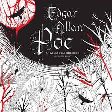 Edgar Allan Poe An Adult Coloring Book Odessa Begay 9781454921356 Amazon Books