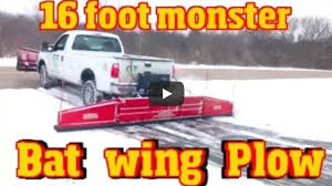 100 Snow Plows For Small Trucks The Fastest Plow Ever Made 16 Monster Back Plow Short Iron Fab