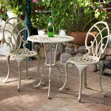 Patio Dining Sets Under 300 by Furniture Lowes Bistro Set For Creating An Intimate Seating Area