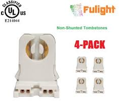 Shunted Bi Pin Lamp Holders buy jacky led non shunted t8 lamp holder socket tombstone for led