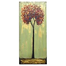 Tree Wall Decor Wood by 9 Best Canvas Art Trees Images On Pinterest Wood Walls Autumn