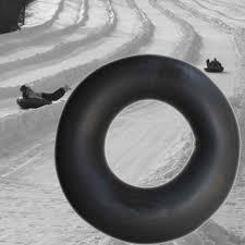100 Truck Tubes Two 2 Pack Heavy Duty Snow Sledding Inner Tube Butyl Rubber