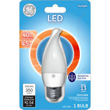 ge 40w equivalent daylight 5000k dimmable led light