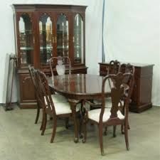 Ethan Allen Dining Room Tables Round by Queen Anne Dining Room Furniture Solid Oak Amp Cherry Furniture