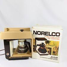 Item 1 Vintage Norelco Drip Coffee Maker 8 Cup HB 5130 1974 Open Box Tested Works