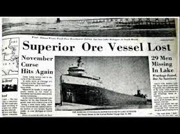What Time Did The Edmund Fitzgerald Sank by The Edmund Fitzgerald Story Youtube Interesting Articles