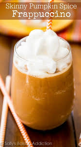 Dunkin Donuts Pumpkin Spice Syrup For Sale by Skinny Pumpkin Frappuccino Sallys Baking Addiction