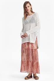 malika sheer paisley maxi skirt sale french connection usa