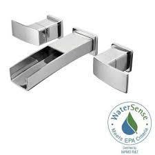 waterfall bathroom faucets bath the home depot