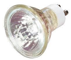 satco s3516 35 watt mr16 halogen gu10 base 120 volt clear fl 36