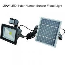 LED Sensor Solar Panel Power Wall Street Light 204060W PIR Motion