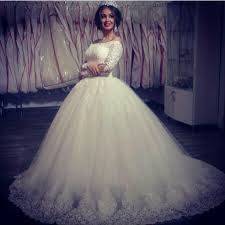 aliexpress com buy off shoulder saudi arabia ball gown wedding