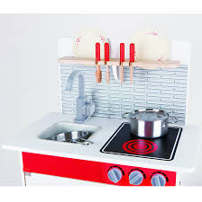 Hape Kitchen Set Malaysia by Hape City Cafe Wooden Play Kitchen With Accessories Amazon Co Uk