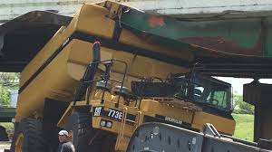 100 Truck Hits Overpass I40 To Receive Structural Repairs