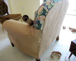 Chair And Ottoman Covers by Goodbye House Hello Home Blog Armchair And Ottoman Slipcover