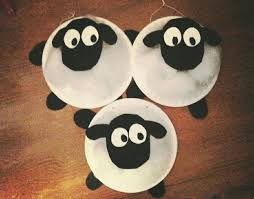 Shaun The Sheep Paper Plate Craft Kids Crafts