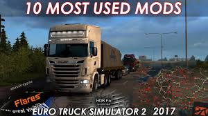 10 Must Have Modifications For Euro Truck Simulator 2 | 2017 - YouTube