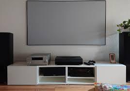 ikea lowboard vorher beamer ikealowboard tv hifi