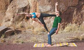 Bend Couple Thrive On Pushing The Boundaries Of Adventure Yoga