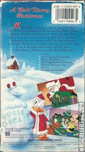 Plutos Christmas Tree by A Walt Disney Christmas Vhscollector Com Your Analog Videotape