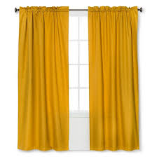 Eclipse Curtains Thermaback Vs Thermaweave by Braxton Thermaback Light Blocking Curtain Panel Yellow 42