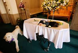 Funeral Home Holds Funeral For Grief Counselling Dog