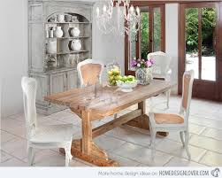 Shabby Chic Dining Room Table And Chairs by 15 Pretty And Charming Shabby Chic Dining Rooms Home Design Lover