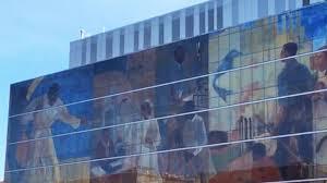 Harlem Hospital Glass Mural by Harlem Walking Tour Celebrates Black History Month Video Abc News