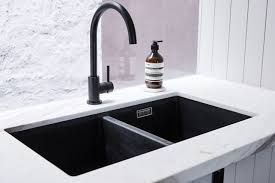 sinks black kitchen sink taps round matte black kitchen mixer