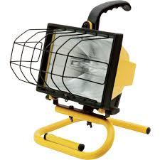 Halogen Floor Lamps 500w by Ironton Halogen Worklight U2014 500 Watts 8000 Lumens Portable Work