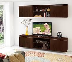 landhaus wohnzimmer set möbel hängeschrank tv lowboard per aus walsnussfurnier massivholz dunkel