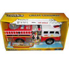 100 Tonka Fire Rescue Truck Mighty Motorized Vehicle Engine Kidzcorner