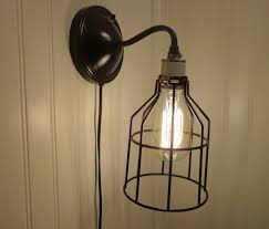 industrial wall lighting sconce in with edison bulb