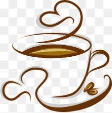 Vector Cup Of Coffee Cartoon PNG And