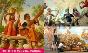 Most Famous Mural Artists by 30 Beautiful Wall Mural Paintings For Your Inspiration