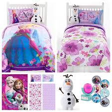 Doc Mcstuffins Bed Set by Disney Frozen 7 Piece Bed In A Bag Twin Bedding Set Reversible