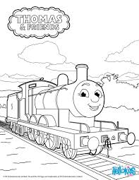 Christmas Coloring Pages Thomas Train