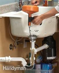 Garbage Disposal Backing Up Into 2nd Sink by Unclog A Kitchen Sink Family Handyman