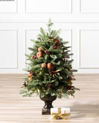 Orchard Harvest Potted Artificial Christmas Tree Balsam Hill