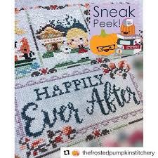 Frosted Pumpkin Stitchery Kit by Swooning Over Thefrostedpumpkinstitchery 2017 Sal Sneak Peek Up