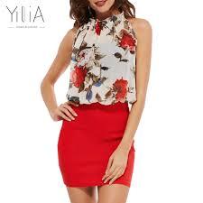 online get cheap black and red rose dress aliexpress com