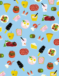 Junk Food Wallpaper Rolling Stones