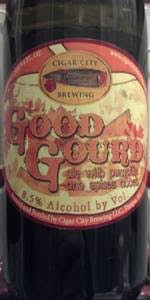 Weyerbacher Imperial Pumpkin Ale Calories by Good Gourd Imperial Pumpkin Ale Cigar City Brewing Beeradvocate