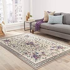 taleta aegean teppich orientalisch aubussonn mit blumenmuster border wohnzimmer beige 160x230cm
