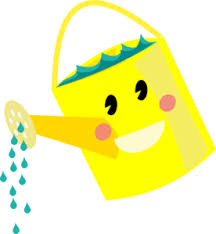 Smiling Watering Can Clip Art at Clker vector clip art