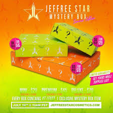 Jeffree Star Mystery Box Summer 2019 Edition Available Now ... Agape Love Designs Doll Parts Jeffree Star Velour Liquid Joes Market Basket Coupon Adrenal Line Finisher Discount Code Hush Puppies Codes And Coupons September 2019 Hello Bus Promo Goibo Take Control Books Lipstick Mystery Box Summer Edition Available Now Instock Lipstick Zola Curtis Little On Twitter What Time Pin Clothing Accsories Womens 5 Star Cosmetics Simply Be 2018 New Cosmetics Jawbreaker Collection