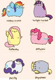 Pusheen My Little Pony And Cat Image